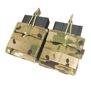 Condor® Ładownica molle Double Open-Top M14 Mag Pouch (MA24-008) - Multicam®