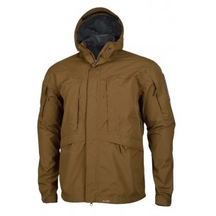 Pentagon Monsoon Rain-Shell - Coyote / Tan