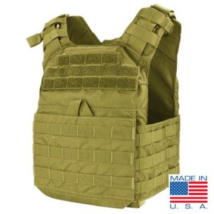 Condor® Kamizelka Cyclone Lightweight Plate Carrier (US1020-003) - Coyote / Tan