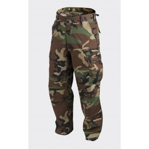 Helikon-Tex® Spodnie BDU (Battle Dress Uniform) - Cotton Ripstop - US Woodland