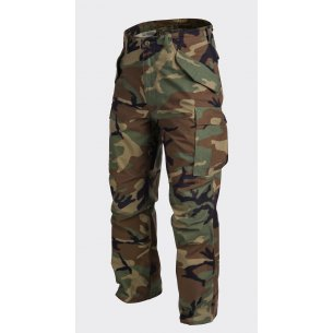 Helikon-Tex® Spodnie US ARMY MILITARY M65 - Nyco Sateen - US Woodland